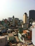 Ho chi minh. City in vietnam. Urban sprawl. Megacity Royalty Free Stock Image