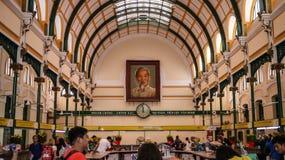 HO CHI MINH CITY, VIETNAME - 6 DE FEVEREIRO DE 2016: Portra de Ho Chi Minh imagens de stock