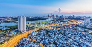 HO CHI MINH CITY Stock Image