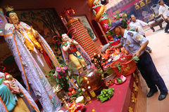 Ho Chi Minh City's Chinese temple Stock Photos