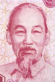Ho Chi Minh on Currency Note Stock Images