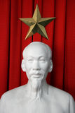 Ho Chi Minh x heerser van Vietnam Royalty-vrije Stock Foto