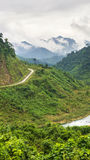 Ho Chi Minh Highway West Stock Photography