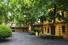 Ho Chi Minh House in Ha Noi City. Vietnam. Year 2011, August 5th Royalty Free Stock Photos