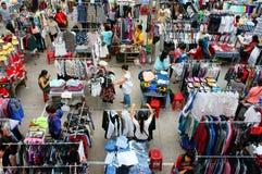 Ho Chi Minh market day fair, Vietnamese  student Stock Photography
