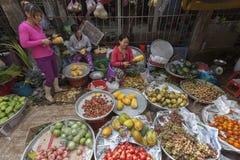 Ho Chi Minh marknader Arkivbilder