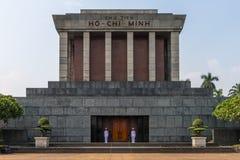 Ho Chi Minh Mausoleum stock foto's
