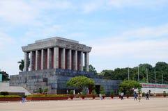 Ho Chi Minh Mausoleum Royaltyfria Bilder