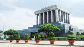 Ho Chi Minh mausoleum Royaltyfri Bild