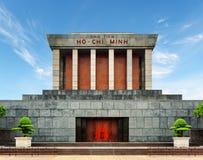 Ho Chi Minh Mausoleum auf dem Ba Dinh Square, Hanoi, Vietnam Lizenzfreie Stockfotografie