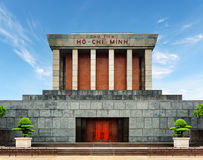 The Ho Chi Minh Mausoleum on the Ba Dinh Square, Hanoi, Vietnam Royalty Free Stock Photography