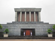 Ho Chi Minh Mausoleum in Ba Dinh Square, Hanoi, Vietnam Royalty Free Stock Photography