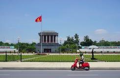 Ho Chi Minh Mausoleum en Hanoi, Vietnam Foto de archivo