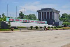 Ho Chi Minh Mausoleum en Hanoi, Vietnam Imágenes de archivo libres de regalías