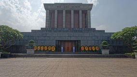 Ho Chi Minh Mausoleum. Exterior of Ho Chi Minh Mausoleum Royalty Free Stock Photography