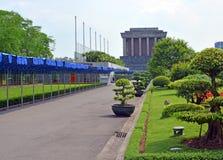 Ho Chi Minh Mausoleum & Gardens, Hanoi Vietnam Royalty Free Stock Image