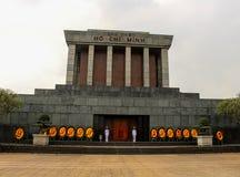 Ho Chi Minh Mausoleum Hanoi royaltyfri bild