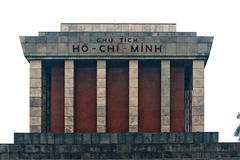 Ho Chi Minh Mausoleum in Hanoi. Royalty Free Stock Photography