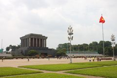 Ho Chi Minh Mausoleum in Hanoi-Stadt vietnam Jahr 2011, August Stockfotos