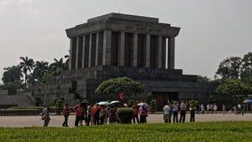 Ho Chi Minh mausoleum in Hanoi. The Ho Chi Minh Mausoleum, the tomb of Vietminh leader Ho Chi Minh in Hanoi, Vietnam Stock Photos