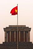 Ho Chi Minh Mausoleum, Hanoi, Vietnam. Arkivfoton
