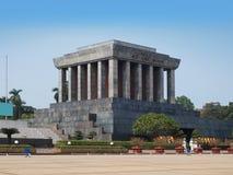 Ho Chi Minh Mausoleum in Hanoi, Vietnam. stock afbeelding