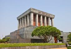 Ho Chi Minh Mausoleum in Hanoi, Vietnam royalty-vrije stock fotografie