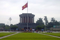 Ho Chi Minh mausoleum Royalty Free Stock Photo