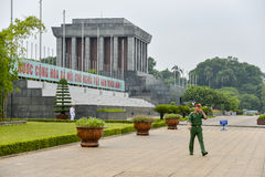 Ho Chi Minh Mausoleum Stock Photos