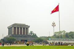 Ho Chi Minh mausoleum, hanoi, Vietnam, Royaltyfria Foton
