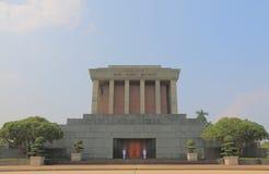 Ho Chi Minh Mausoleum Hanoi Vietnam Royalty Free Stock Images