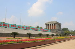 Ho Chi Minh Mausoleum Hanoi Vietnam Stock Photography