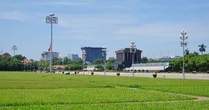 The Ho Chi Minh Mausoleum in Hanoi, Vietnam Stock Photography