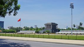 The Ho Chi Minh Mausoleum in Hanoi, Vietnam Royalty Free Stock Image