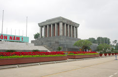 Ho Chi Minh Mausoleum in Hanoi, Vietnam Royalty Free Stock Photo