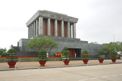 Ho Chi Minh Mausoleum in Hanoi, Vietnam Royalty Free Stock Photos