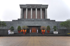Ho Chi Minh mausoleum in Hanoi, Vietnam Stock Image