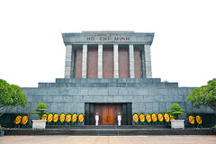 Ho Chi Minh mausoleum in Hanoi, Vietnam Royalty Free Stock Images
