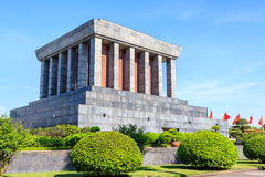Ho Chi Minh Mausoleum in Hanoi, Vietnam Stock Photos