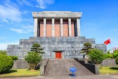 Ho Chi Minh Mausoleum in Hanoi, Vietnam Stock Images
