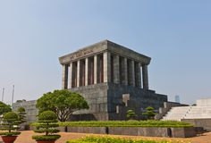Ho Chi Minh Mausoleum in Hanoi, Vietnam Stock Photo