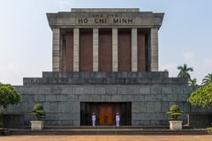 The Ho Chi Minh Mausoleum Stock Photos