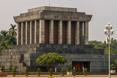 The Ho Chi Minh Mausoleum Stock Image