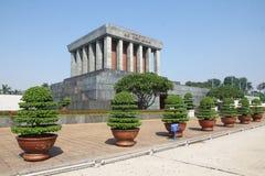 Ho Chi Minh Mausoleum in Hanoi, Vietnam - Series 2 Royalty Free Stock Photo