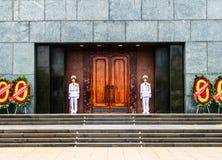 Ho chi minh Mausoleum in Hanoi, Vietnam Stock Photos