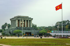 Ho chi minh Mausoleum in Hanoi, Vietnam Stock Photography