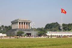 Ho Chi Minh Mausoleum in Hanoi, Vietnam Royalty Free Stock Photography