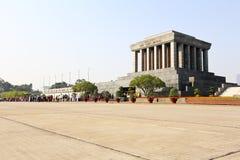 Ho Chi Minh Mausoleum in Hanoi, Vietnam. Wide angle view of Ho Chi Minh Mausoleum in Hanoi, Vietnam Stock Image