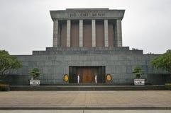 Ho Chi Minh Mausoleum i Hanoi. Vietnam. Royaltyfri Foto