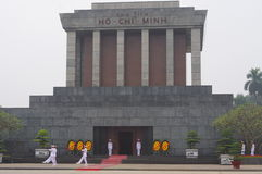 The Ho Chi Minh Mausoleum Royalty Free Stock Images